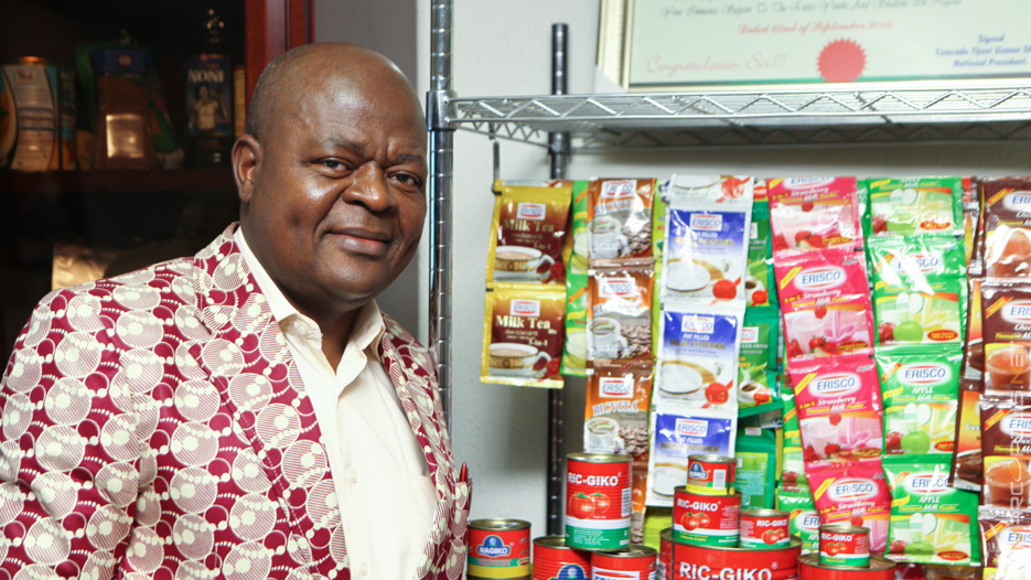 Chief Eric O. Umeofia, CEO-President of Erisco Foods