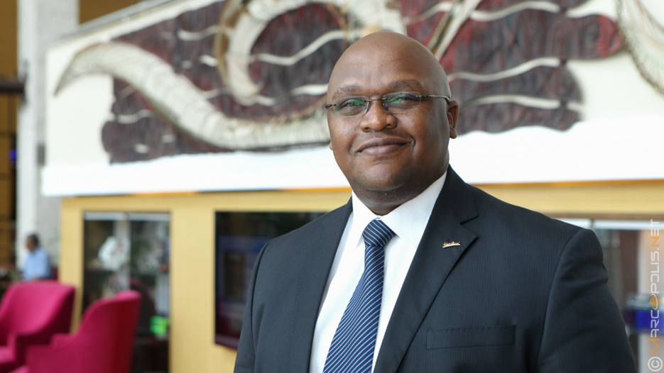 Kevin Kamau, General Manager of Radisson Blu Anchorage
