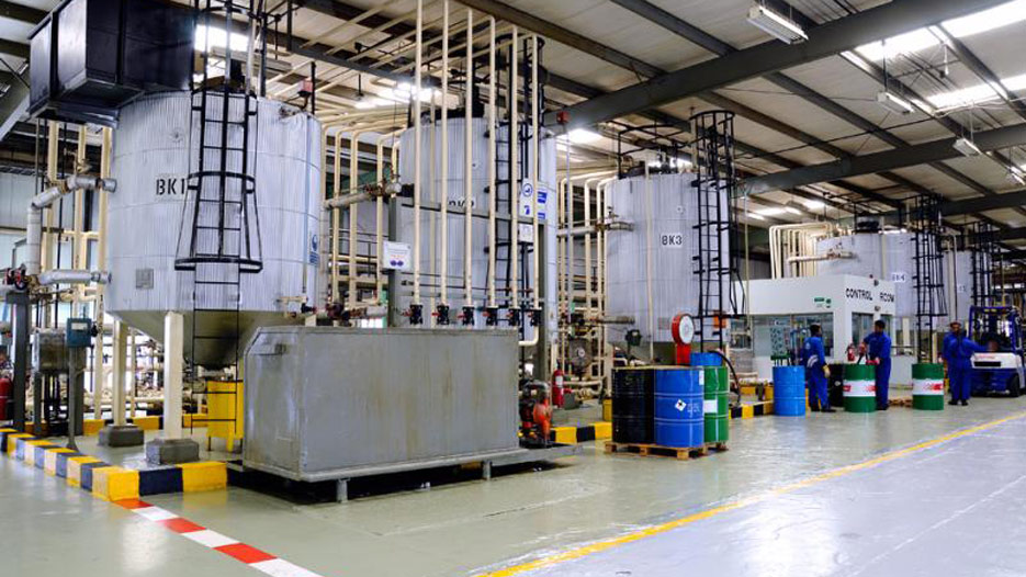 State of the art blending facility for the best lubricants in Saudi Arabia