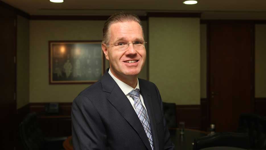 Dr. Bernd van Linder, Managing Director of Saudi Hollandi Bank