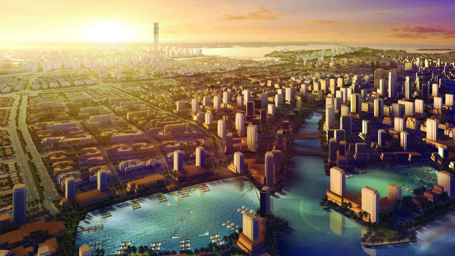King Abdullah Economic City (KAEC) at the Red Sea