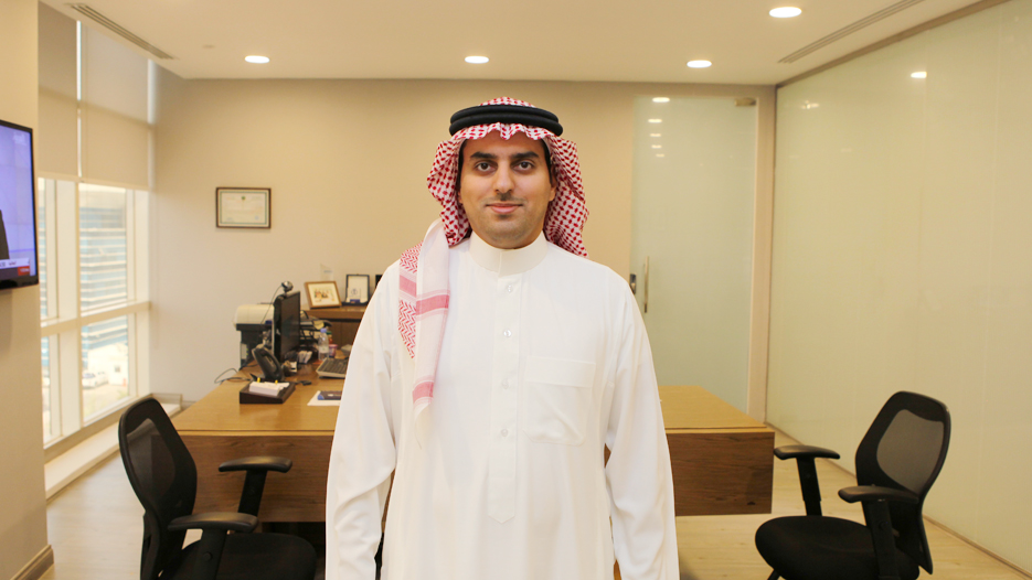 Naif Abdulmohsin Al-Baz, CEO of Deutsche Gulf Finance