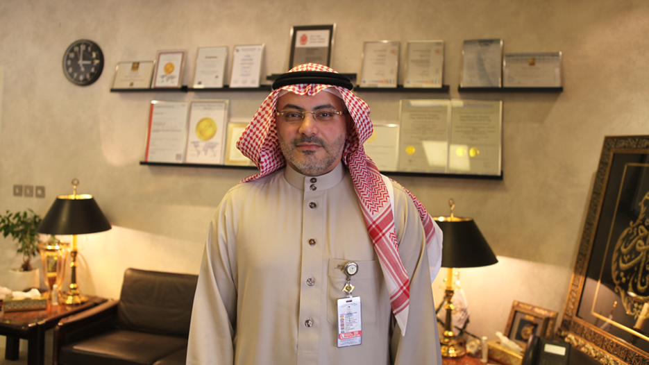Dr. Mahmoud A. Al Yamany, CEO of King Fahad Medical City