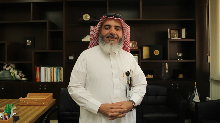 Dr. Mushabbab Al Asiri, Executive Director of Medical Affairs of King Fahad Medical City