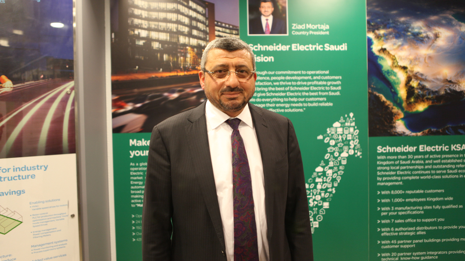 Ziad Mortaja, Country President of Schneider Electric
