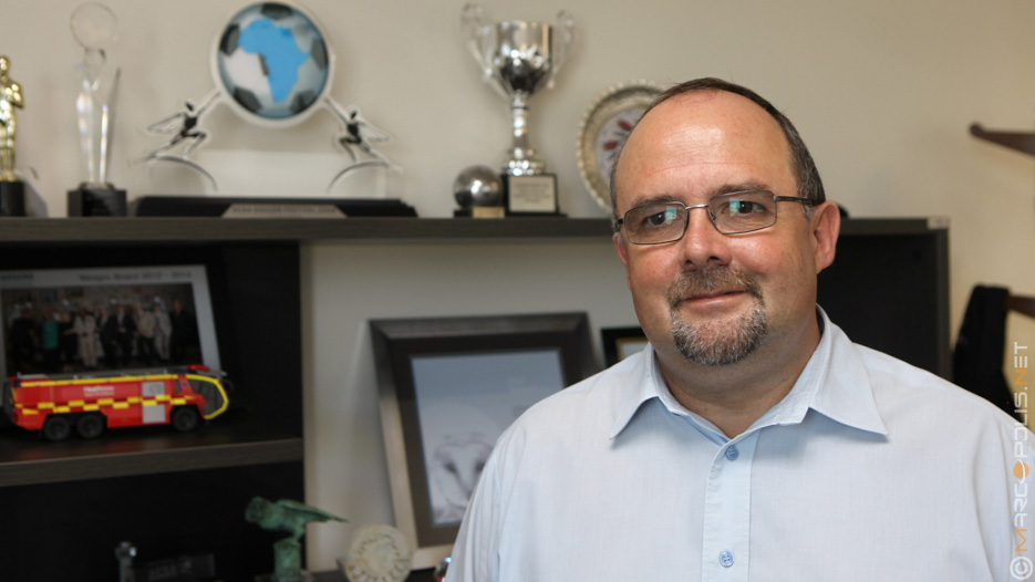Deon Cloete, General Manager of Airports Company South Africa (ACSA)