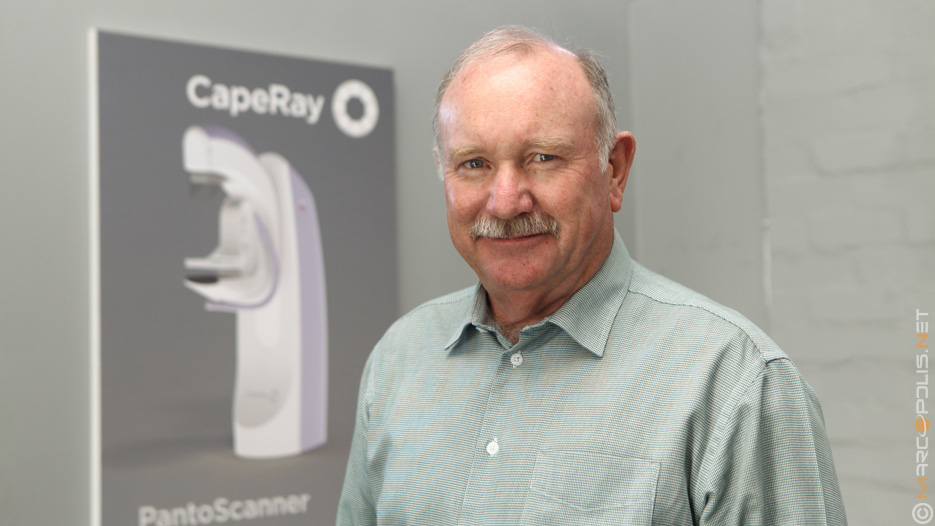 Christopher 'Kit' Vaughan, CEO & Founder of CapeRay Medical