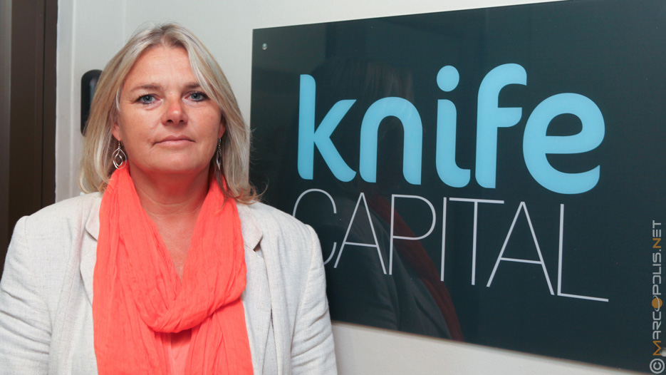 Andrea Bohmert, Managing Partner of Knife Capital