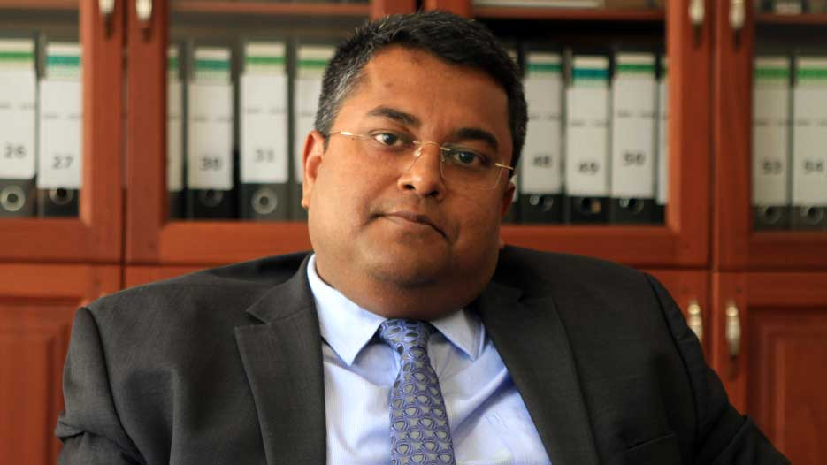 Saugata Bandyopadhyay, Deputy Managing Director of CRDB Bank