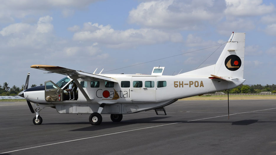 A Coastal Aviation aircraft