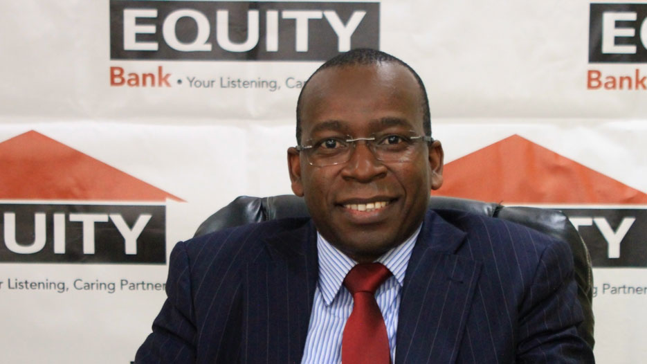 Joseph Iha, Managing Director of Equity Bank