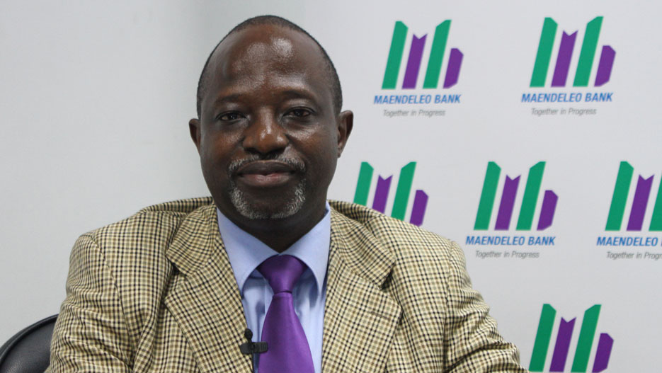 Ibrahim Mwangalaba, Managing Director of Maendeleo Bank