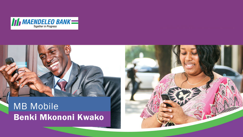 Maendeleo Bank has recently introduced mobile banking