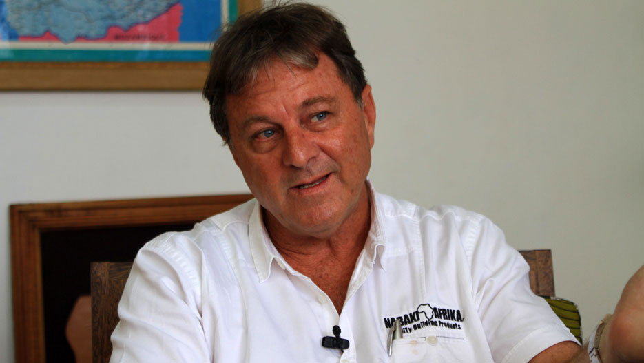 Hamish Hamilton, Executive Chairman of Nabaki Afrika