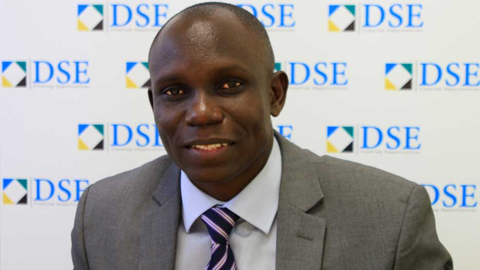 Moremi Marwa, CEO of Dar es Salaam Stock Exchange