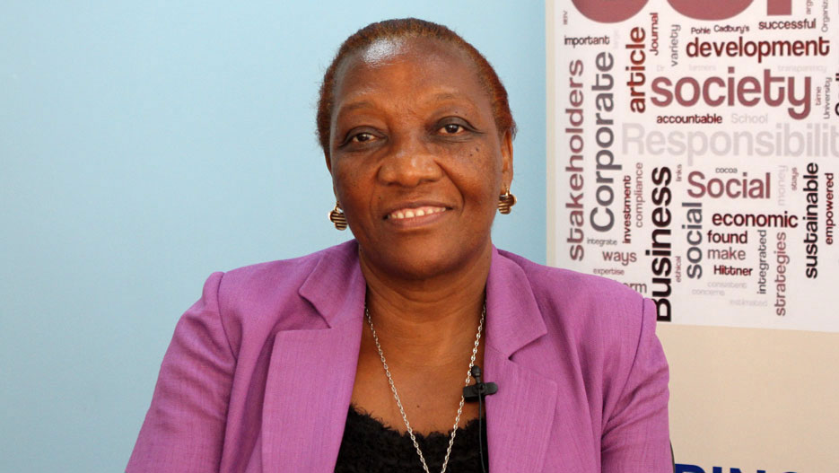 Magdalene Mkocha, Acting Executive Director of Tanzania Chamber of Commerce, Industry and Agriculture (TCCIA)