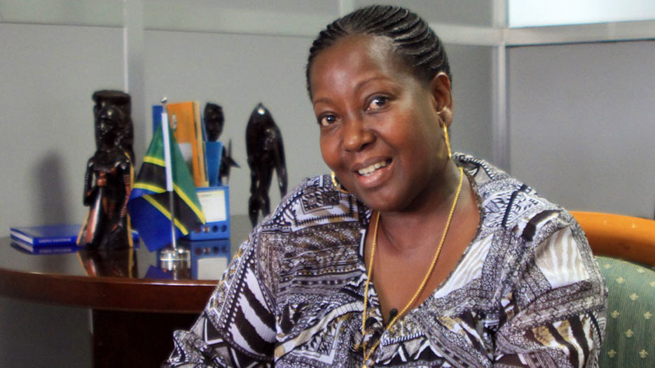 Devota Mdachi, Managing Director of Tanzania Tourist Board (TTB)