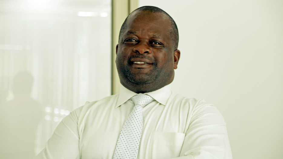 Moses Mugisha, Director of Leading Distillers