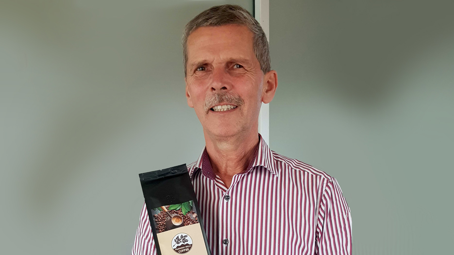 Dr Ian Clarke, Founder of Muhangi Hills Coffee (Clarke Group)